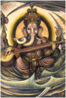 Ganesh Lord of Universal Rhythm